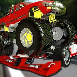 Monster Truck vs Formula Cars