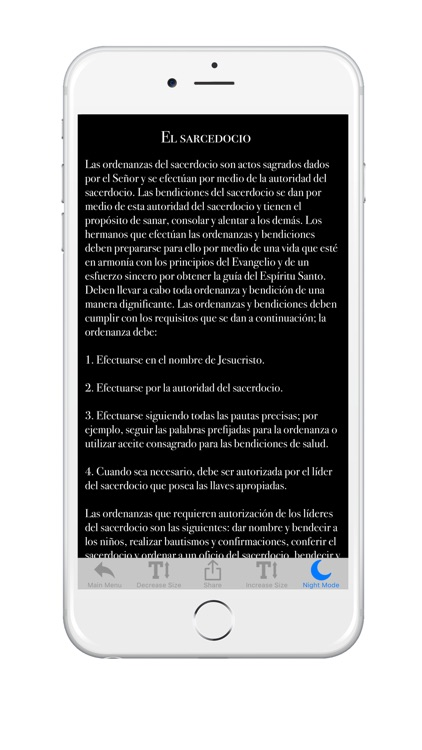 LDS Spanish Priesthood Ordinances