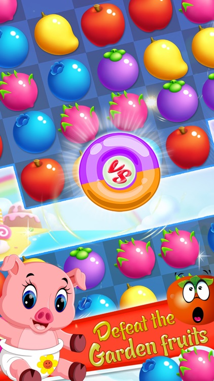 Fruit Garden Mania - Match 3 screenshot-2