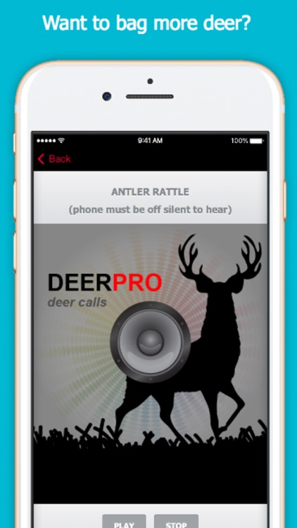 Deer Sounds & Deer Calls for Big Game Hunting screenshot-0