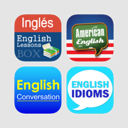 Learning English Series for Spanish - Excellent courses lessons with interactive UI