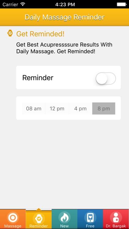 Effective Yoga: Acupressure Points Massage Class screenshot-3