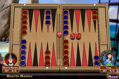 Hardwood Backgammon Pro - náhled