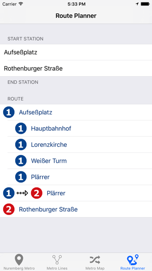 Nuremberg Metro Subway on the App Store