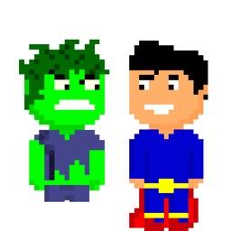PIXTICKERS - Pixel Heroes (Animated)