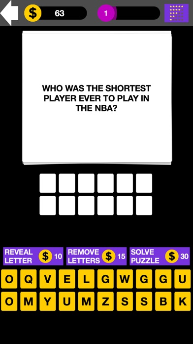 Q&A NBA Basketball Quiz Maestro Screenshot on iOS