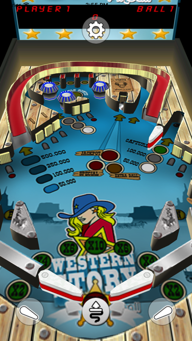 Western Story Pinball screenshot one