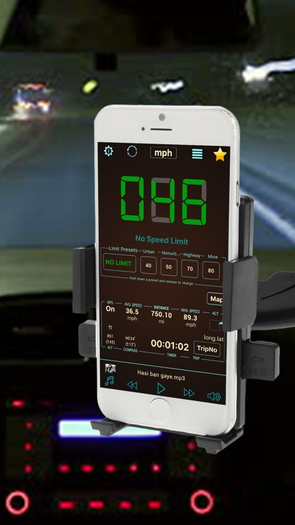 GPS Speedometer Free Speed Tracker