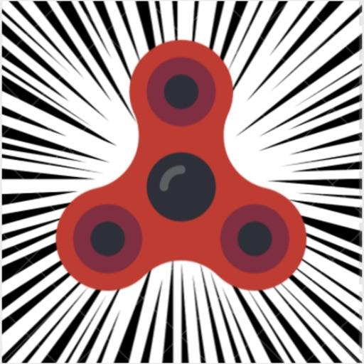 Fidget spinner off