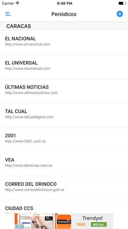 PERIÓDICOS y REVISTAS de VENEZUELA