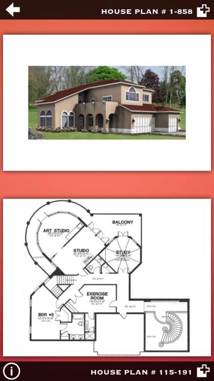 Luxury Home Plans Ideas screenshot-3