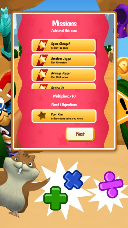 Math Run: Panda Chase screenshot-4