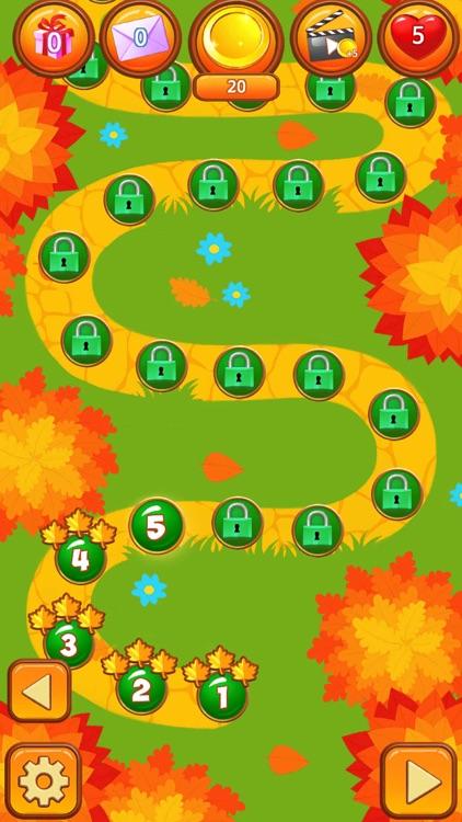 Forest Fall Garden: Match 3