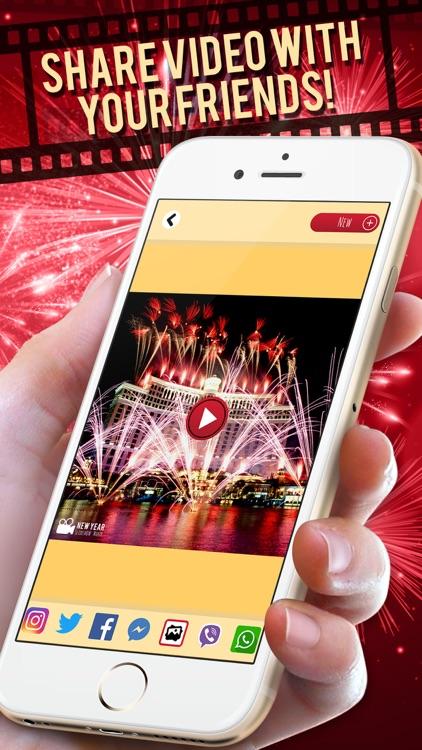 New Year Slideshow Maker – Movie and Video Editor screenshot-4