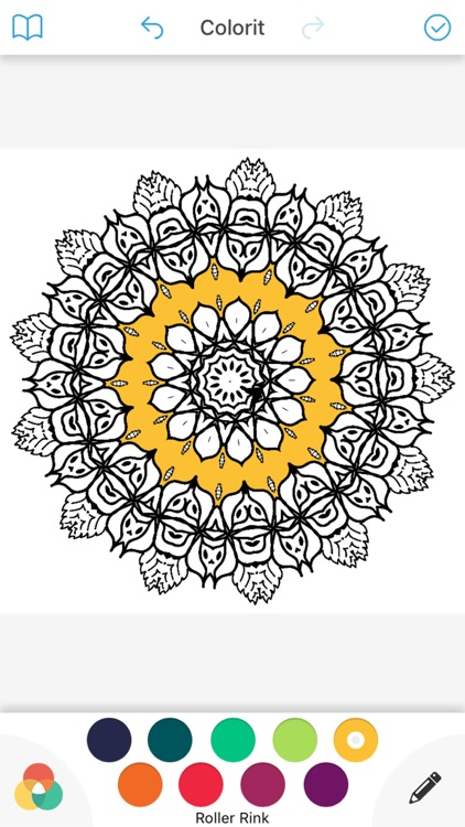 coloring book mandala relax stress relief for me