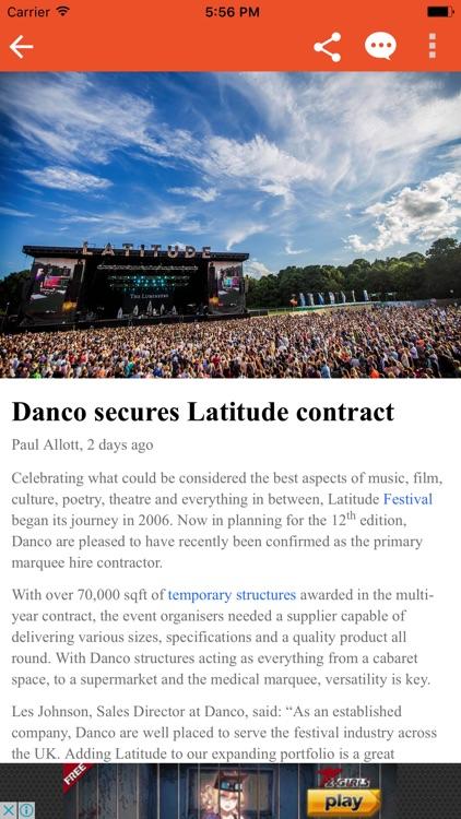 Event Industry News 2017 screenshot-3