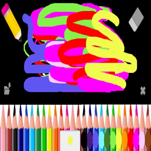 Kids Neon Paint, Drawing Pad for Children *Save icon