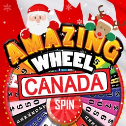 Amazing Wheel™ Canada - Xmas Word Phrase Quiz