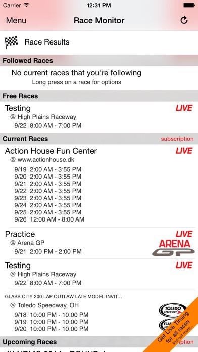 Race Monitor app image