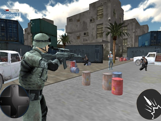 Modern Fatal Commando in Top Ambush 3d screenshot 6