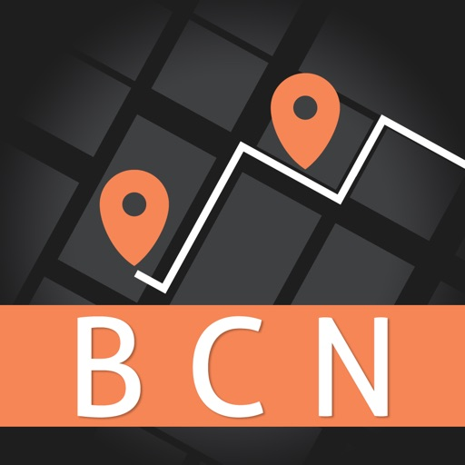 Barcelona City Guide & Offline Travel Map