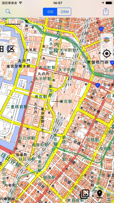 GSI Map++(地理院地図++) screenshot1