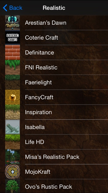 Texture Packs & Creator for Minecraft PC: MCPedia