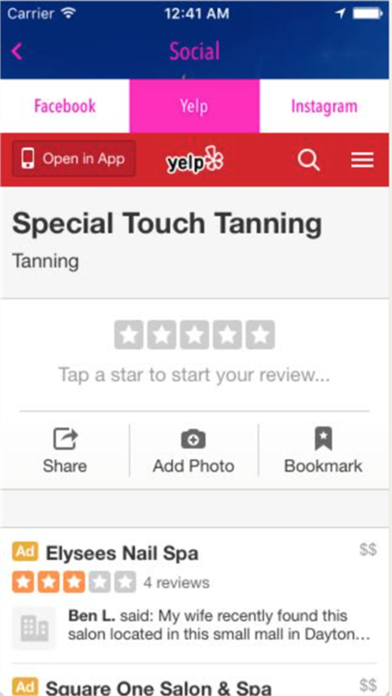 Special Touch Tanning screenshot three