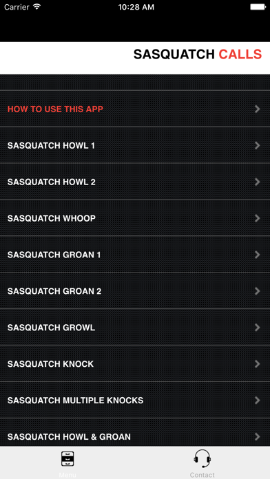 Sasquatch Calls screenshot three