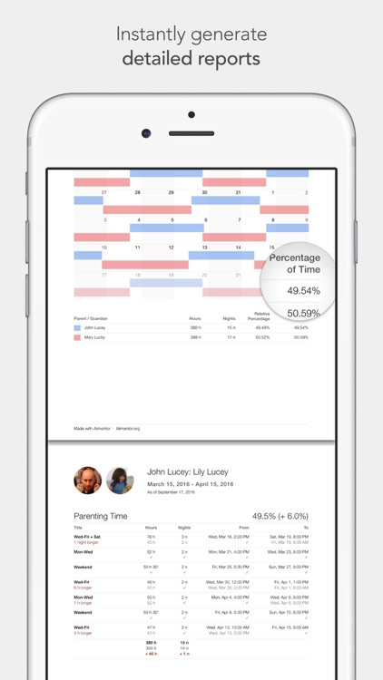 Alimentor - Child Custody Tracker screenshot-4