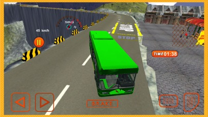 Mountain Crazy Bus Driving Game - Pro app image