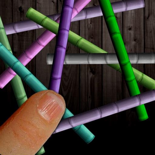 Pick All Trapple Chopstick Sticks in Mikado Board