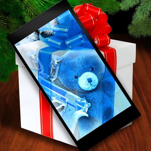 Christmas Present Scanner.Scanner X Ray Gift Joke By Mariya Ivanova