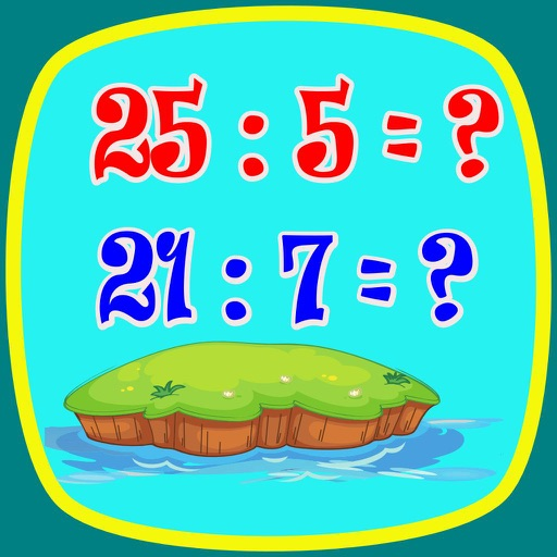 Division Math (kids math) icon