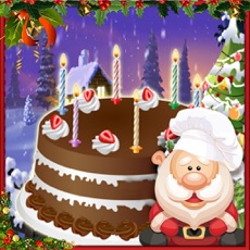 Activities of Christmas Cake Maker - Santa Cooking Game
