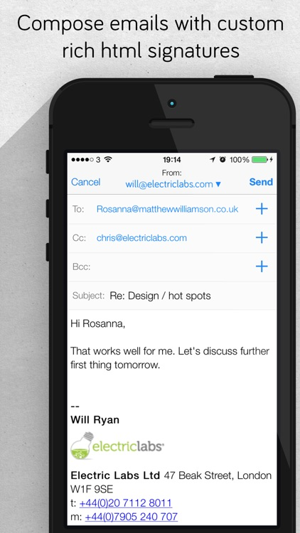 Offline Mail - your email offline with fast search screenshot-4
