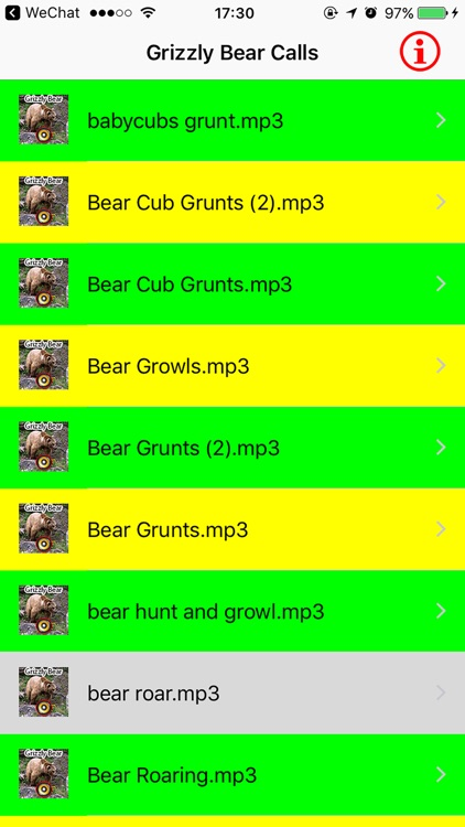 Real Grizzly Bear Hunting Calls & Sounds screenshot-3