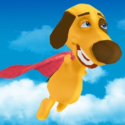 Flappy Super Dog 3D
