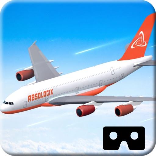VR Airplane Flight Simulator for Google Cardboard