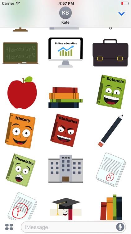 Teacher Emojis screenshot-4