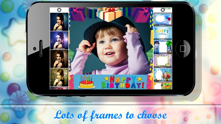 Birthday frames - Photo frames