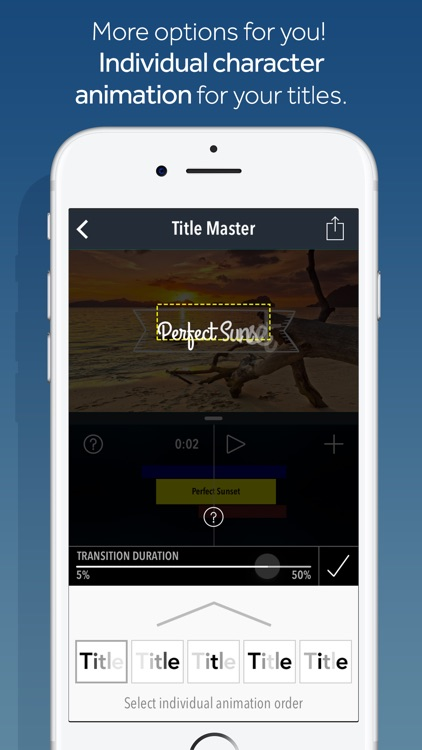 Title Master - Animated text and graphics on video screenshot-4