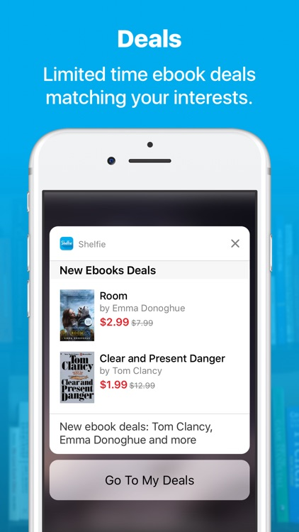 Shelfie – Discounted & Free Ebooks & Audiobooks screenshot-3