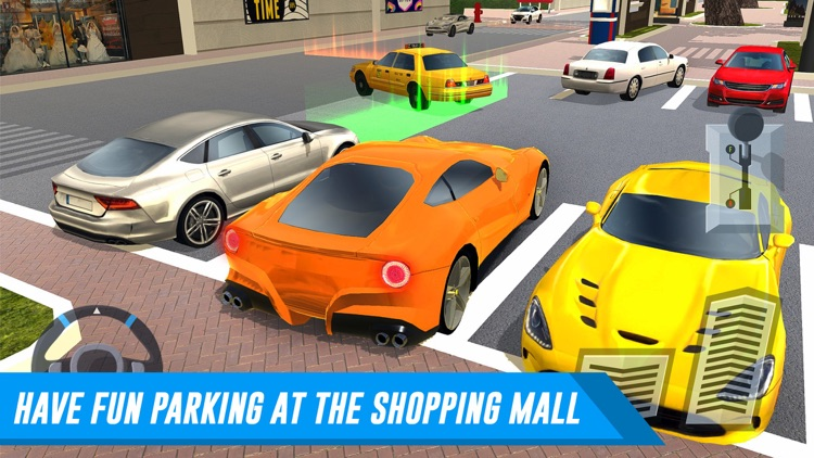 Shopping Mall Car Parking & Truck Delivery Driver