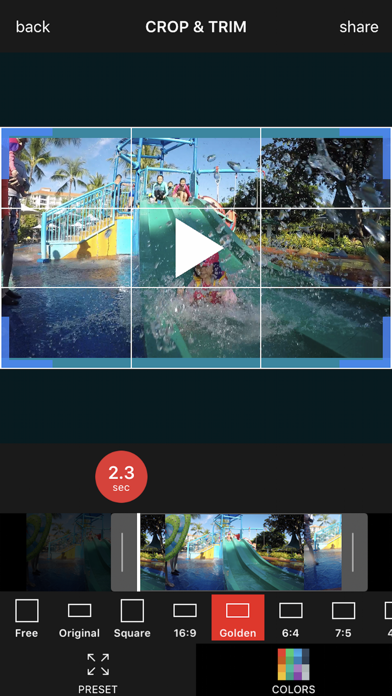Crop Video Pro - Square Sized Videos Editor for Windows
