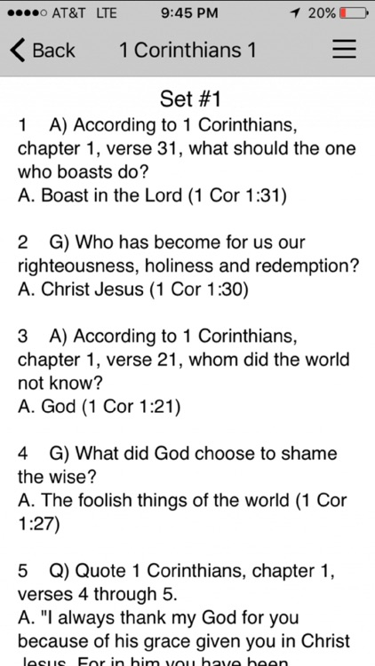 Youth Bible Quiz 17 screenshot-3