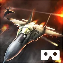 VR Jet Fighter Simulator Real Virtual Reality Game