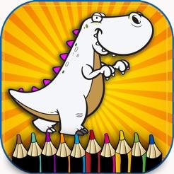 Dinazor Boyama çocuklar Okul öncesi Oyunu ücretsiz App Storeda