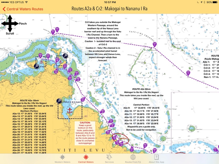 Sail Fiji West/Central Guide screenshot-4
