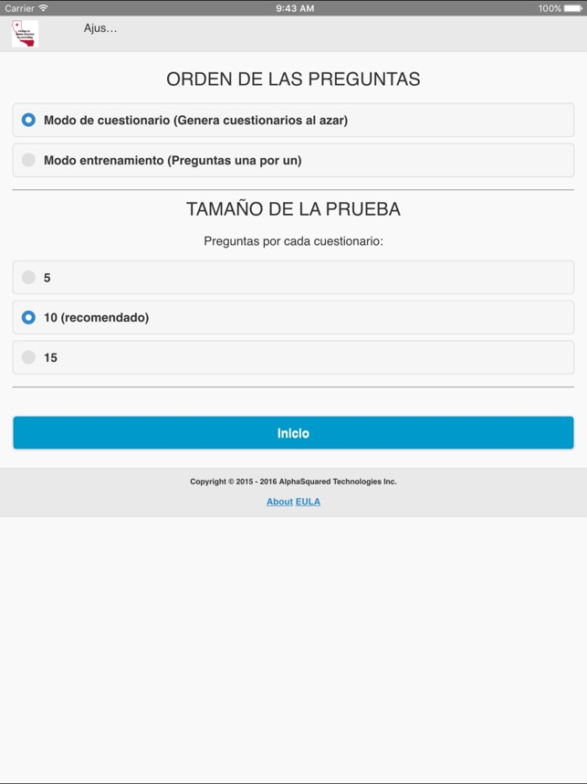 California Firearms Test Spanish On The App Store